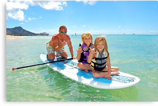 Family fun in the Ocean by Ernie Lopez