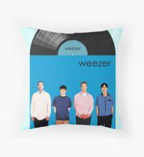 Weezer - Blue Album Throw Pillow