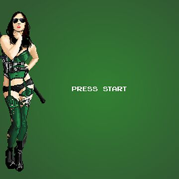 "8-bit ""Press Start"" Screen by tudy1311"