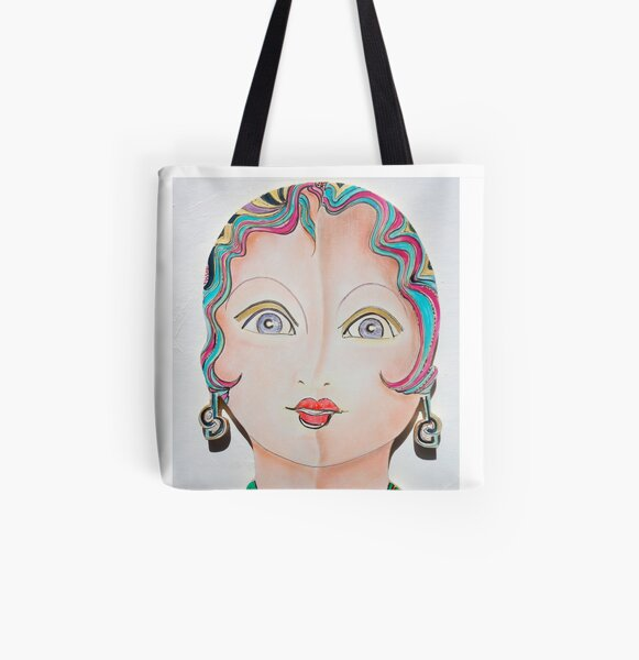 Dolly Dolores All Over Print Tote Bag