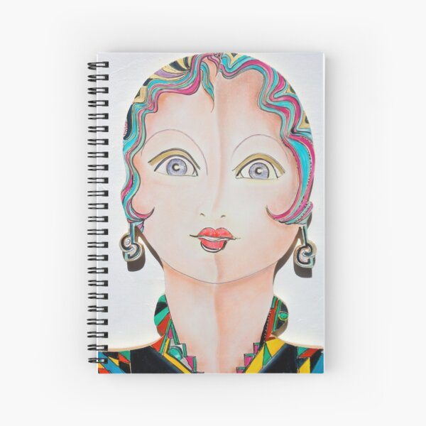 Dolly Dolores Spiral Notebook