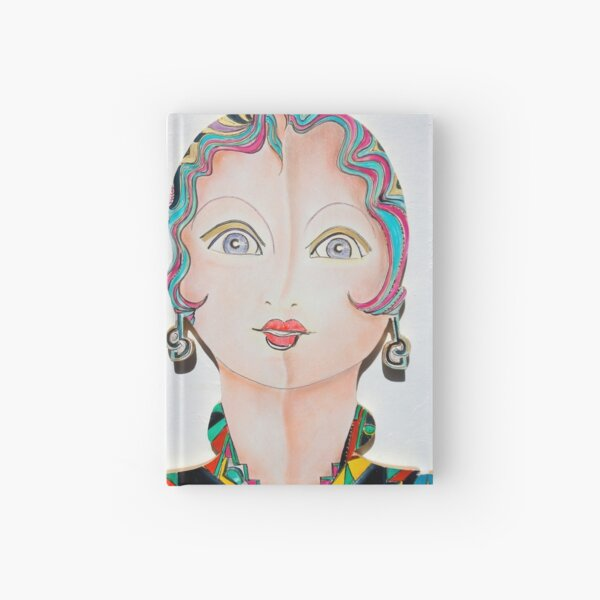 Dolly Dolores Hardcover Journal