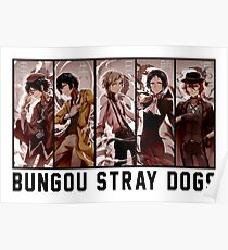 Bungou Stray Dogs Anime Poster