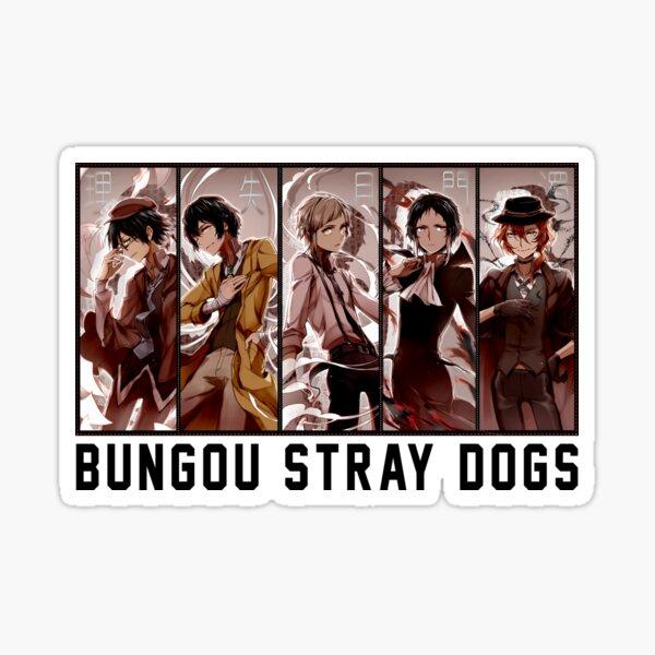 Bungou Stray Chiens Anime Sticker