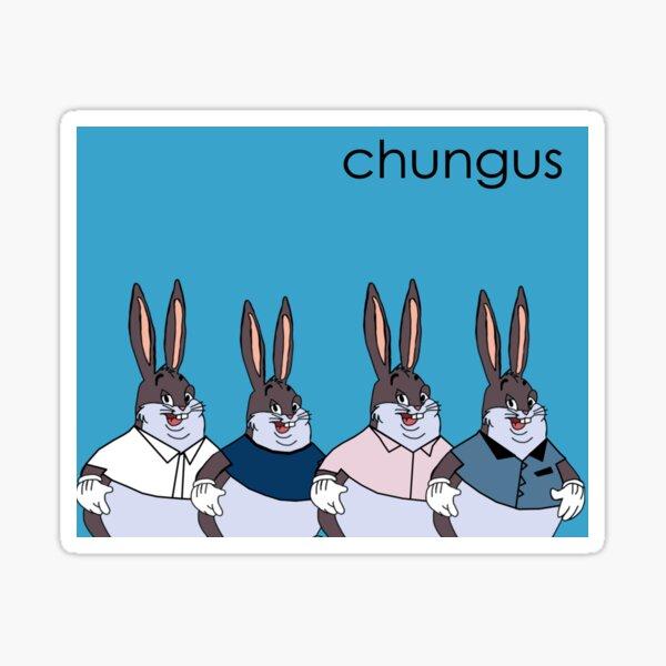 Big Chungus Weezer Remake  Sticker