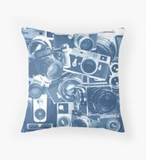 Classic Camera Collection Throw Pillow