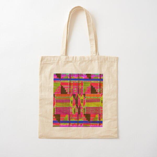 Kent Pattern Paper Cotton Tote Bag