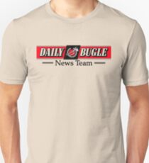 Daily Bugle News Team  Slim Fit T-Shirt