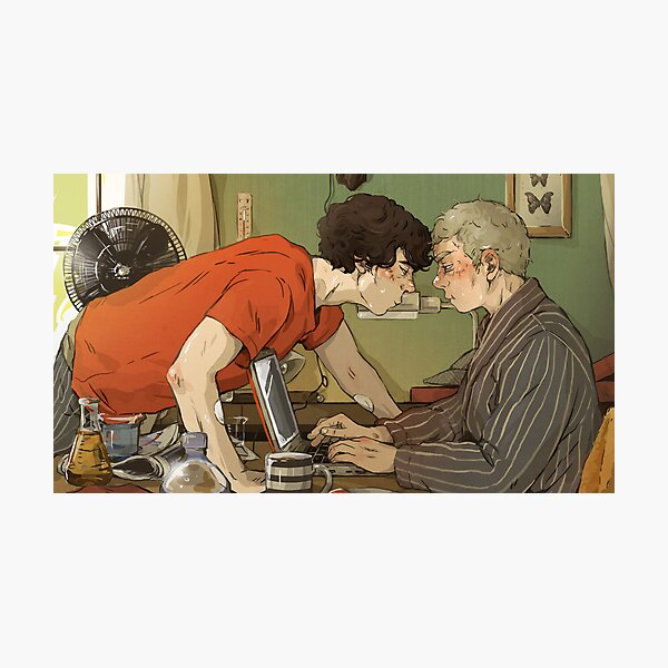 BBC Sherlock: A hot summer afternoon Photographic Print