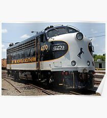 Norfolk Southern Railway F9 Poster
