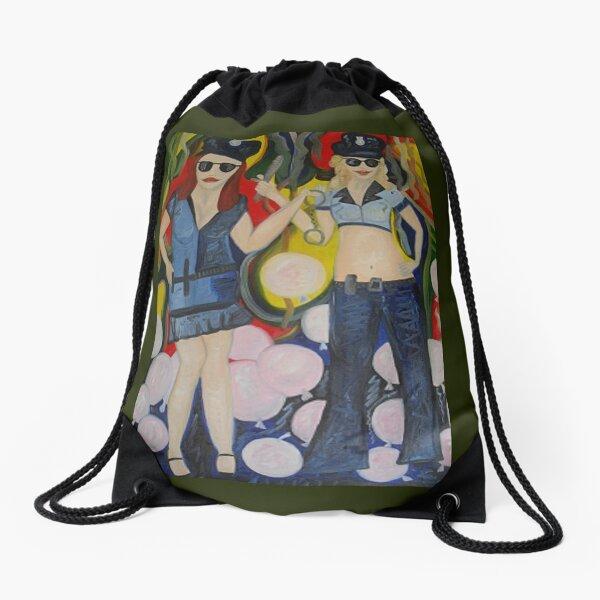 Fun Police Drawstring Bag