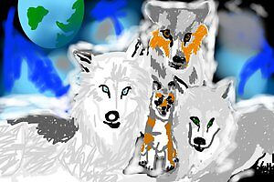 Star Wolves by WolfTek