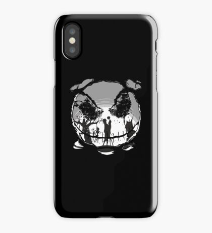 The Pumpkin Kiss iPhone Case/Skin
