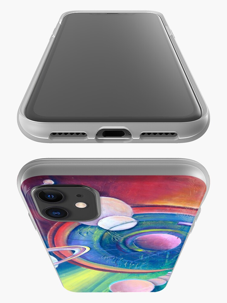 Alternate view of Planetary Alignment iPhone Case & Cover