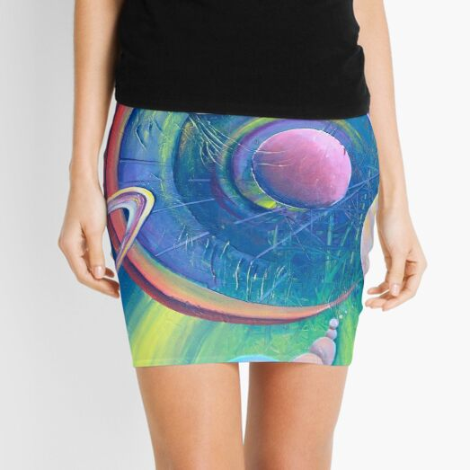 Planetary Alignment Mini Skirt