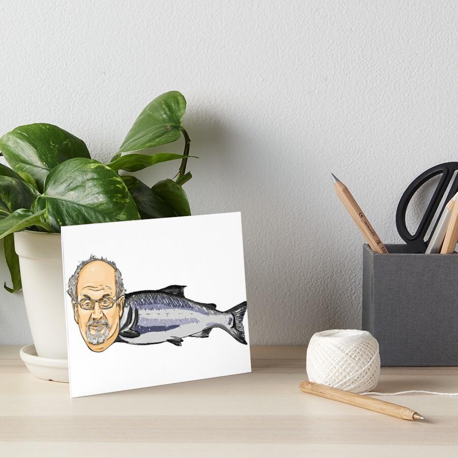 Salmon Rushdie Art Board Print
