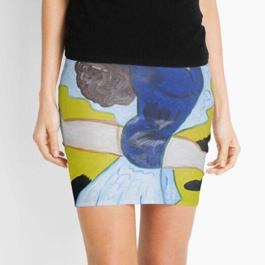 Leaping Lady 2 Mini Skirt