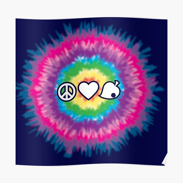 Peace, Love, Nook Poster
