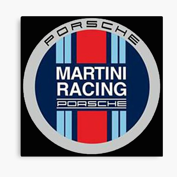 Équipe de course Martini Impression sur toile
