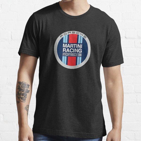 Equipo de carreras de martini Camiseta esencial