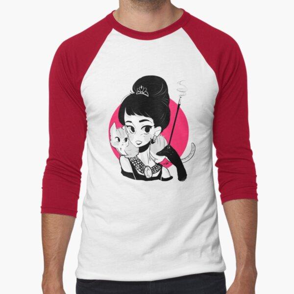 Audrey Darling Baseball ¾ Sleeve T-Shirt