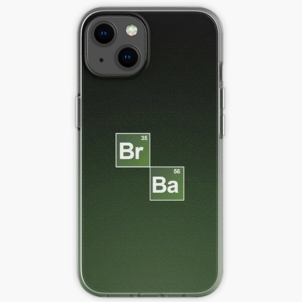 Breaking Bad logo Funda blanda para iPhone