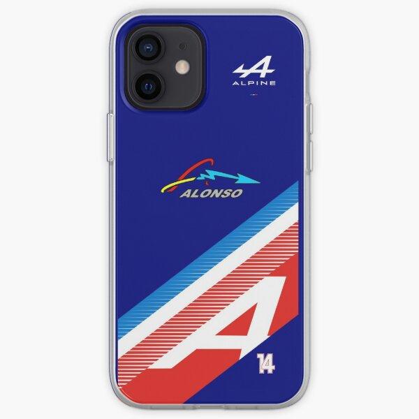 Fernando Alonso 2021 NOUVEAU Personnalisé Coque souple iPhone
