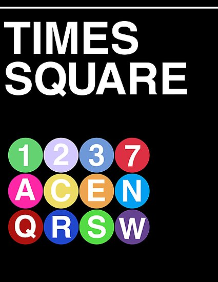 Time Square by rembraushughs