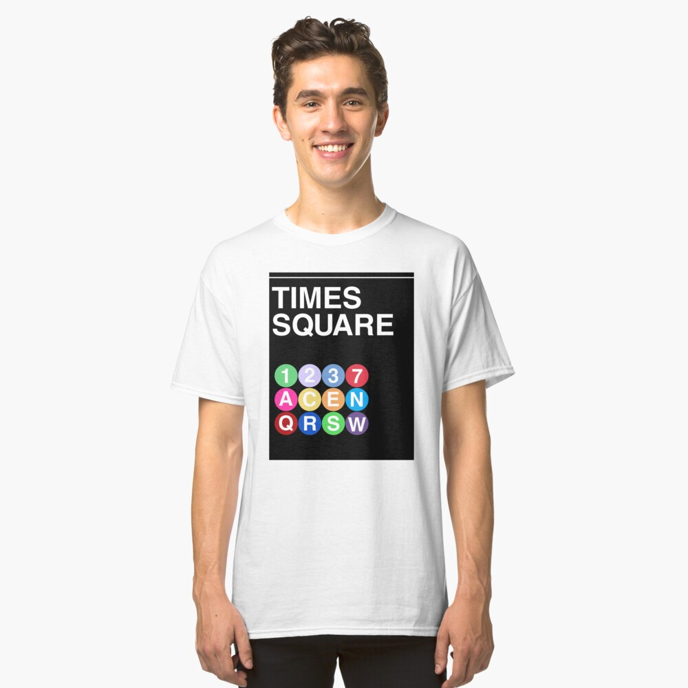 Time Square Classic T-Shirt Front