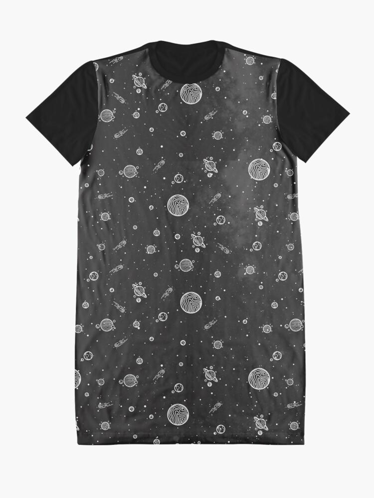 Alternative Ansicht von Sonnensystem T-Shirt Kleid
