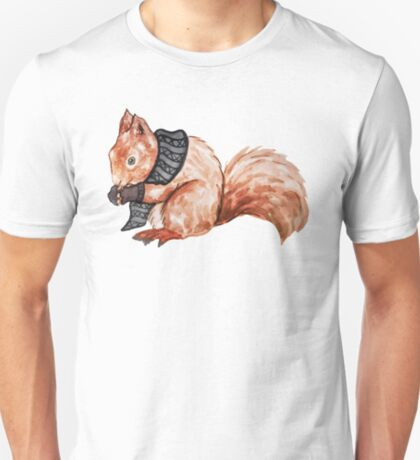 Squirrel in Winter T-Shirt