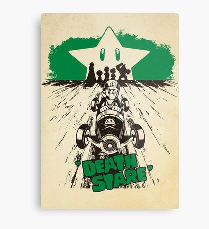 DEATH STARE Metal Print