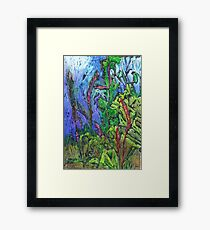 Reeds and Grass, Otmoor Nature Reserve, Framed Print