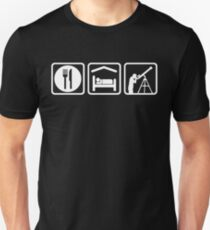 Funny Eat Sleep Astronomy T-Shirt