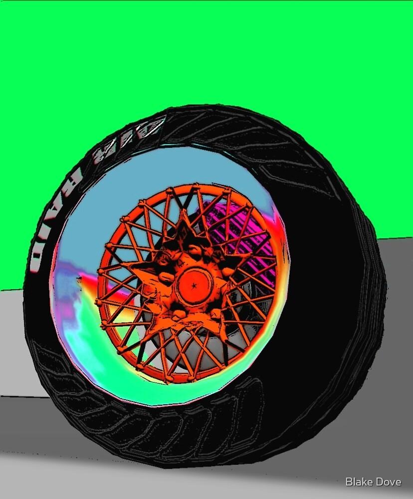 Wheel One (Tropics) by Blake Dove