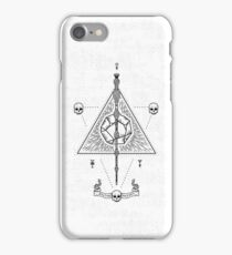 Deathly Hallows (White) iPhone Case/Skin