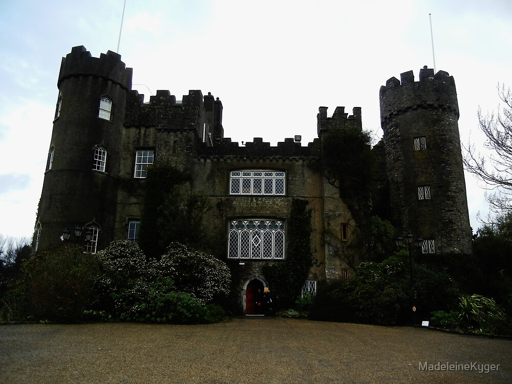 Malahide Castle by MadeleineKyger