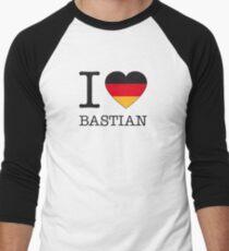 I ♥ BASTIAN Men's Baseball ¾ T-Shirt