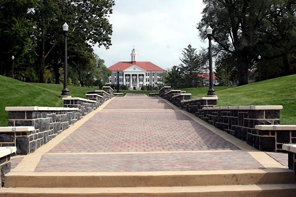 James Madison University by Oldetimemercan
