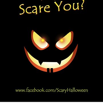 Did I Scare You? Sticker by ScaryHalloween