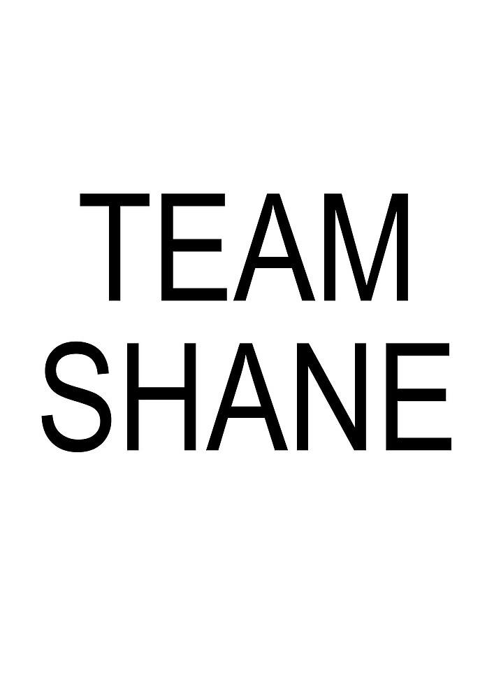 Team Shane by Foureyesfox
