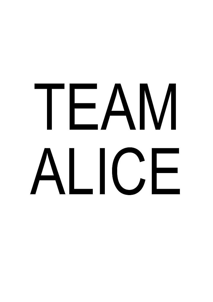 Team Alice by Foureyesfox