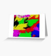 oil pastel Greeting Card