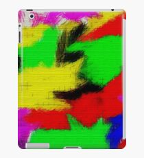 oil pastel iPad Case/Skin