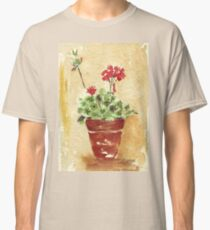 Why grow geraniums in containers? Classic T-Shirt
