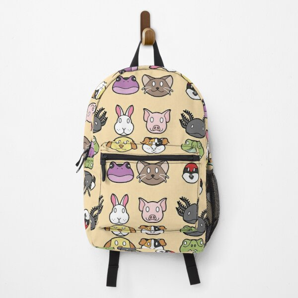 Animal Faces Set A Backpack