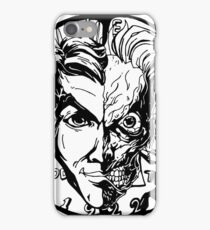 Harvey Dent/Two-Face Illustration iPhone Case/Skin