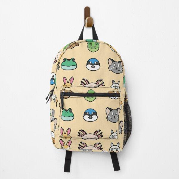 Animal Faces Set B Backpack