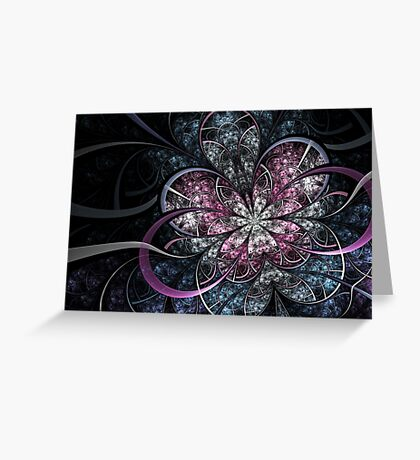 Butterfly Effect - Abstract Fractal Artwork Greeting Card