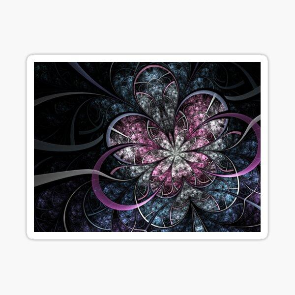 Butterfly Effect - Abstract Fractal Artwork Sticker